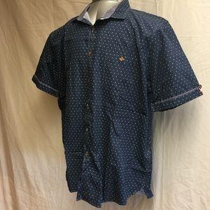 Ted Baker Short Sleeve Shirt - Size 6